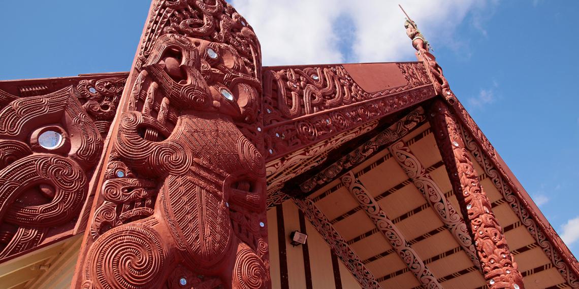 A maori marae